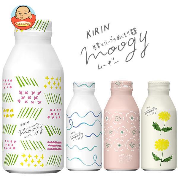 キリン 生姜とハーブのぬくもり麦茶moogy(ムーギー) 375gボトル缶×24本入