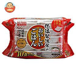 アイリスオーヤマ 低温製法米のおいしいごはん 国産米100% 10食 1200g(120g×10個)×4個入