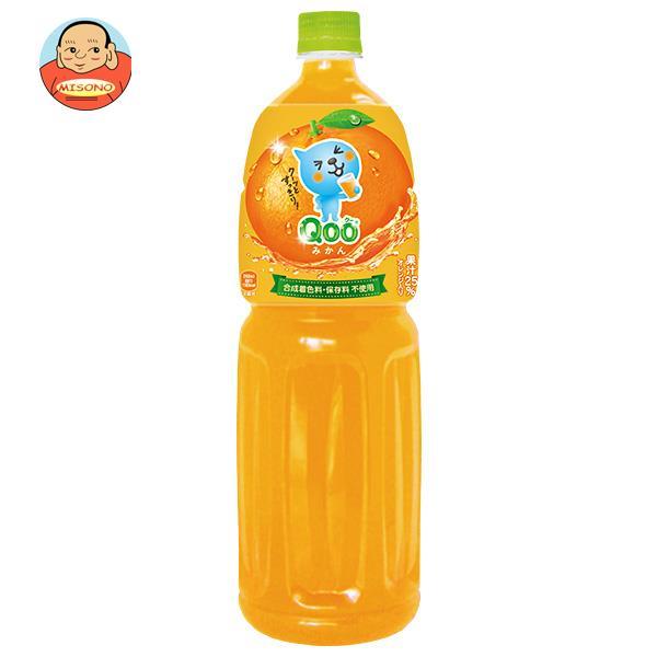 コカコーラ ミニッツメイド Qoo(クー) みかん 1.5Lペットボトル×6本入