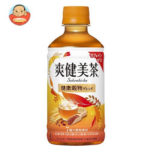 コカコーラ 【HOT用】爽健美茶 健康穀物ブレンド 350mlペットボトル×24本入