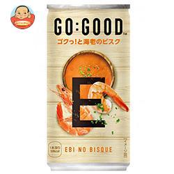 コカコーラ GO:GOOD(ゴーグッド) ゴクっ!と海老のビスク 190g缶×30本入