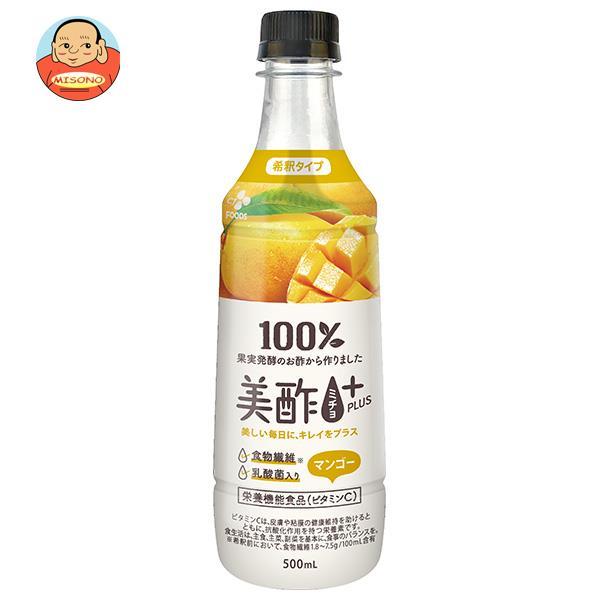 CJジャパン 美酢(ミチョ)BEAUTY PLUS マンゴー 400mlペットボトル×20本入