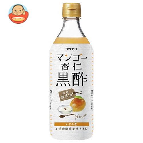 ヤマモリ 砂糖無添加 マンゴー杏仁黒酢 500ml瓶×6本入