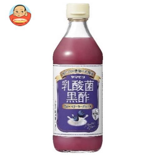 ヤマモリ 乳酸菌黒酢 ブルーベリーヨーグルト味 500ml瓶×6本入