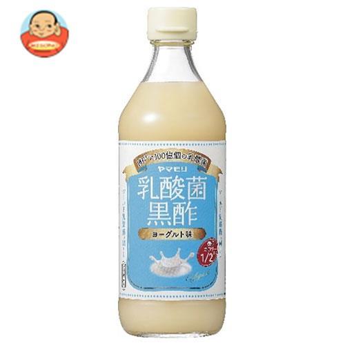 ヤマモリ 乳酸菌黒酢 ヨーグルト味 糖質&カロリーハーフ 500ml瓶×6本入