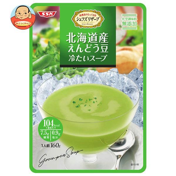 SSK シェフズリザーブ 北海道産えんどう豆の冷たいスープ 160g×40袋入