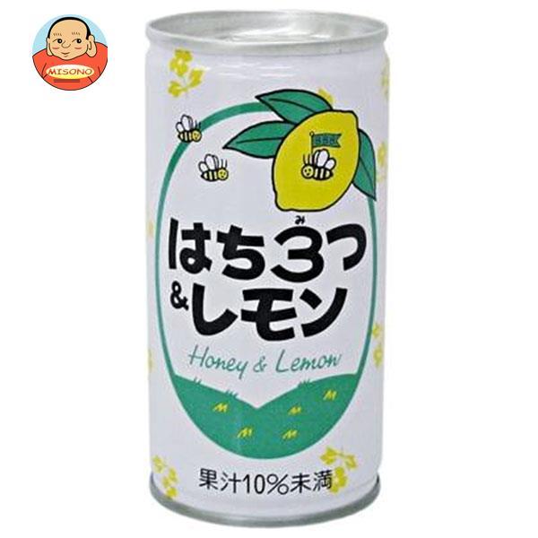 長野興農 はち3つ&レモン 190g缶×30本入