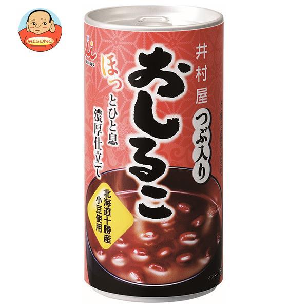 井村屋 つぶ入りおしるこ 190g缶×30本入
