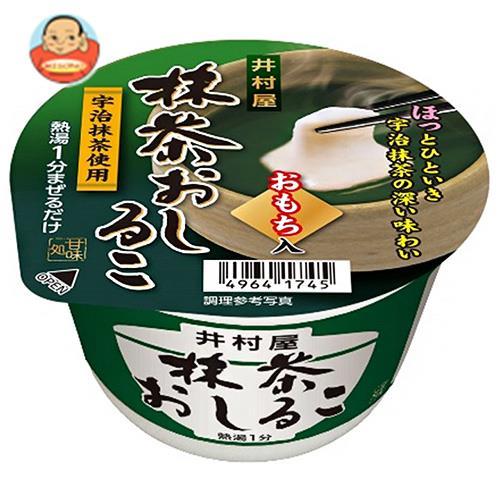 井村屋 カップ抹茶おしるこ 30g×40個入