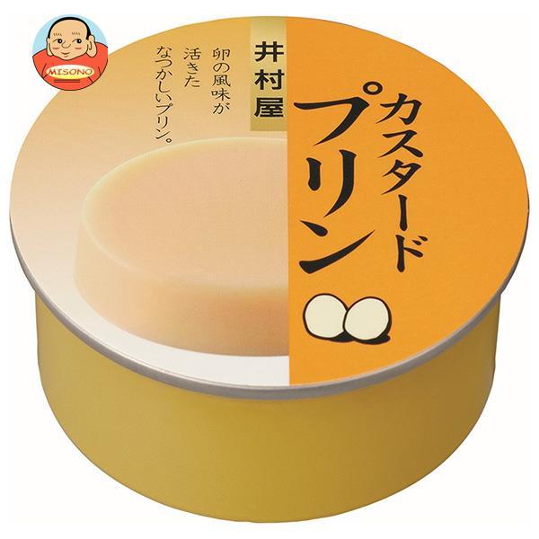 井村屋 缶カスタードプリン 75g×32個入