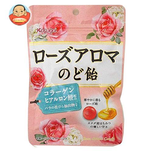 春日井製菓 ローズアロマのど飴 80g×6袋入