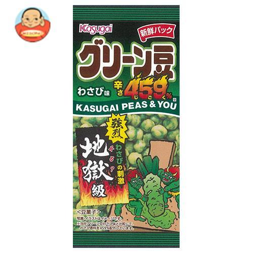 春日井製菓 スリムグリーン豆わさび味辛さ459% 38g×6袋入