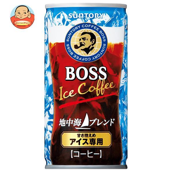 サントリー BOSS(ボス) 地中海ブレンド 185g缶×30本入