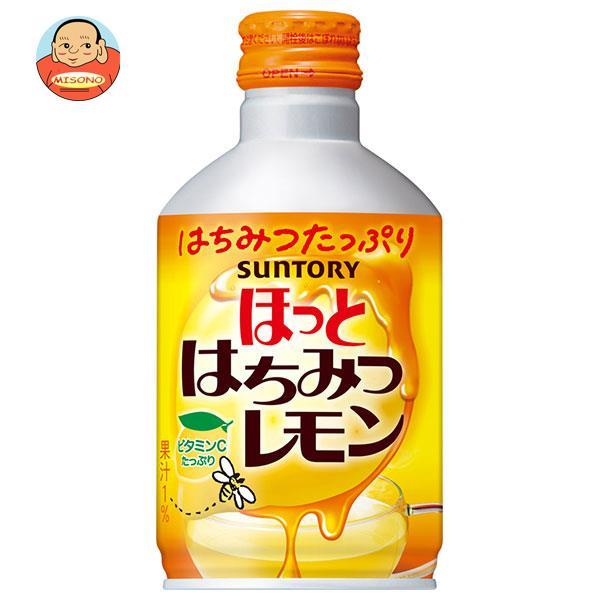 サントリー 【HOT用】ホットはちみつレモン 290gボトル缶×24本入