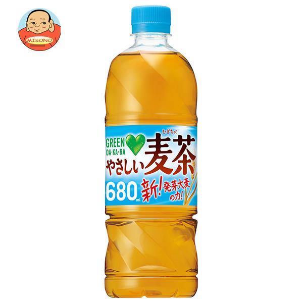 サントリー GREEN DA・KA・RA(グリーン ダカラ) やさしい麦茶【手売り用】 650mlペットボトル×24本入