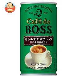サントリー カフェ・ド・ボス ほろあまエスプレッソ 185g缶×30本入