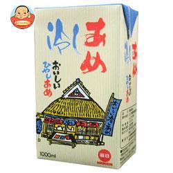 毎日牛乳 毎日冷しあめ 1000ml紙パック×12(6×2)本入