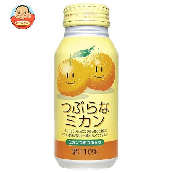 JAフーズおおいた つぶらなミカン 190gボトル缶×30本入