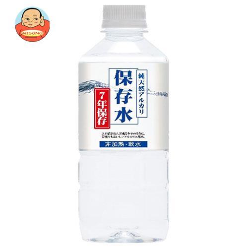 ケイ・エフ・ジー 純天然アルカリ保存水 7年保存 500mlペットボトル×24本入