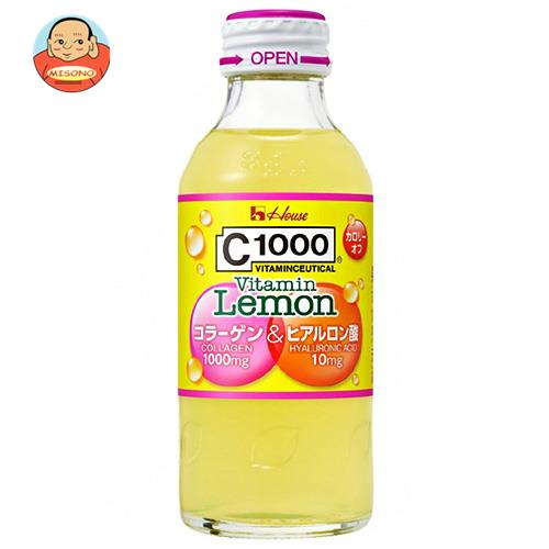 ハウスウェルネス C1000 ビタミンレモン コラーゲン&ヒアルロン酸 140ml瓶×30本入