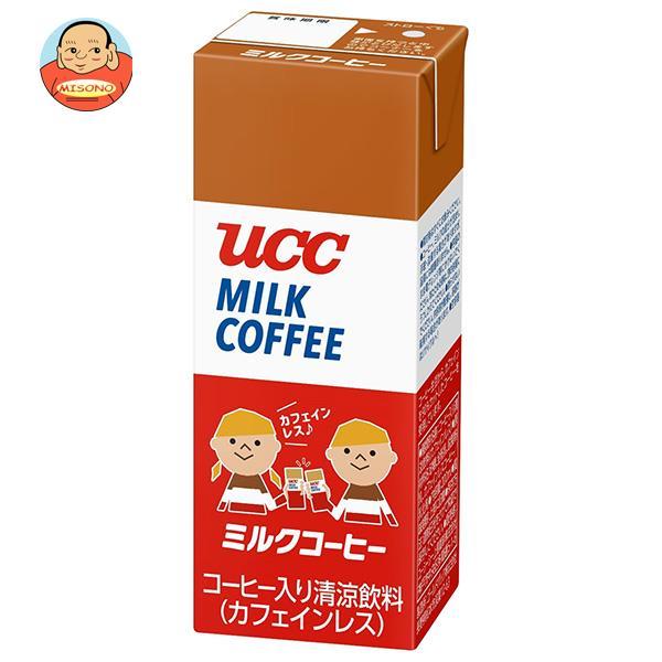 UCC ミルクコーヒー 200ml紙パック×24本入