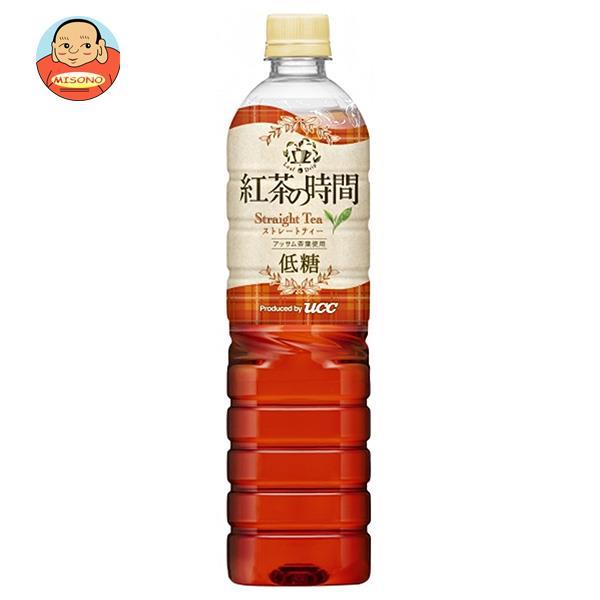 UCC 紅茶の時間 ストレートティー 低糖 930mlペットボトル×12本入