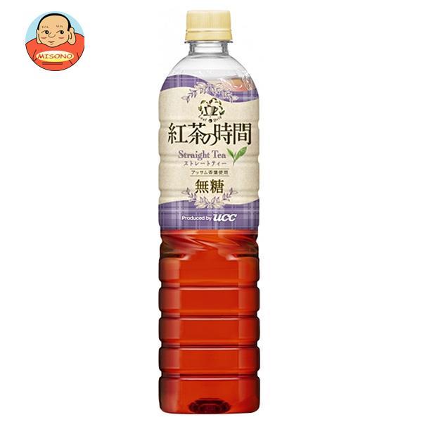 UCC 紅茶の時間 ストレートティー 無糖 930mlペットボトル×12本入