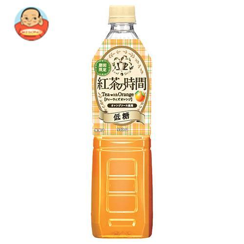 UCC 紅茶の時間 ティーウィズピーチ 低糖 930mlペットボトル×12本入