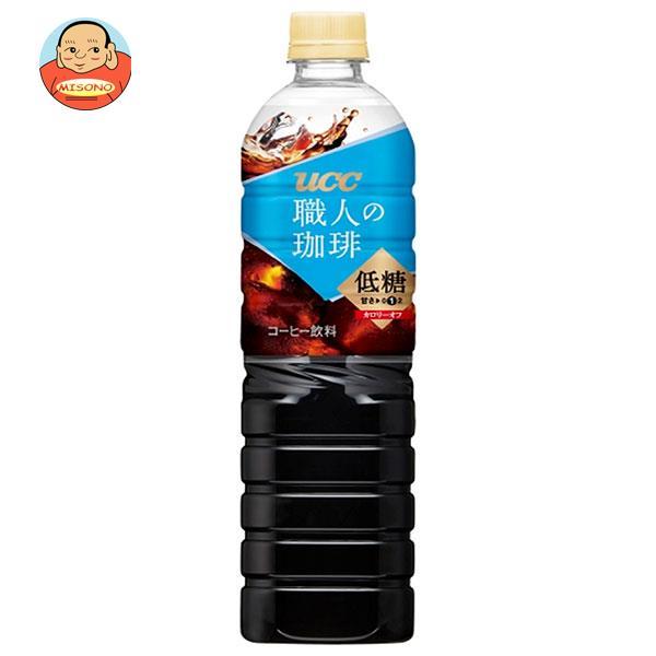 UCC 職人の珈琲 低糖 930mlペットボトル×12本入