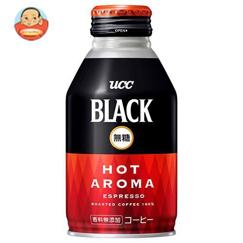 UCC 【HOT用】BLACK無糖 HOT AROMA(ホットアロマ) 275gリキャップ缶×24本入