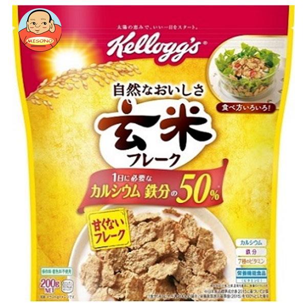ケロッグ 玄米フレーク 220g×6袋入