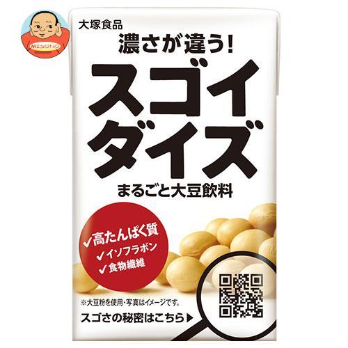 大塚食品 スゴイダイズ 125ml紙パック×24本入