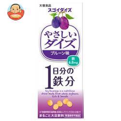 大塚食品 やさしいダイズ Fe プルーン味 200ml紙パック×24本入