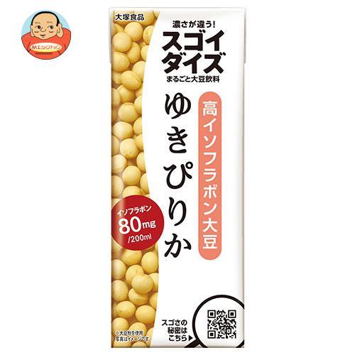 大塚食品 スゴイダイズ ゆきぴりか 200ml紙パック×24本入
