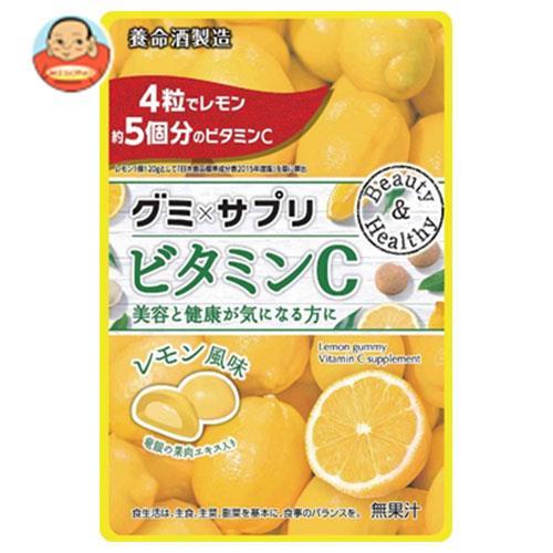 養命酒 グミサプリ ビタミンC 48g(4g×12粒)×6袋入