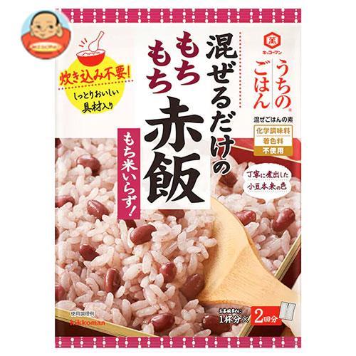 キッコーマン うちのごはん 混ぜごはんの素 もちもち赤飯 92g×10袋入