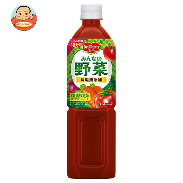デルモンテ みんなの野菜 900gペットボトル×12本入