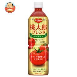 デルモンテ 桃太郎ブレンド  食塩無添加 トマトジュース 900gペットボトル×12本入