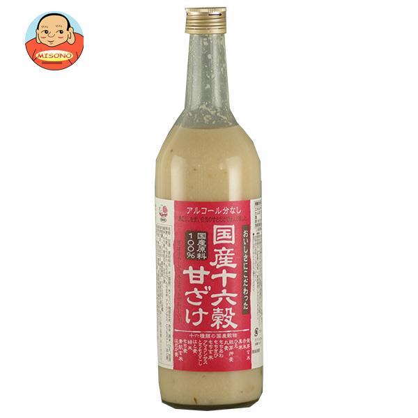 種商 国産十六穀甘ざけ 720ml瓶×6本入