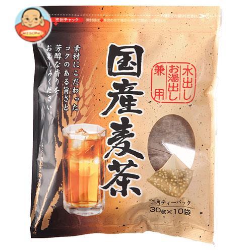 ちきりや 国産麦茶 三角ティーパック (30g×10袋)×20袋入