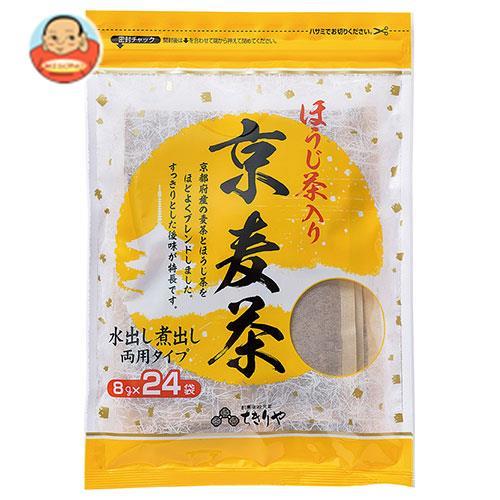 ちきりや ほうじ茶入り 京麦茶ティーパック (8g×24袋)×15袋入
