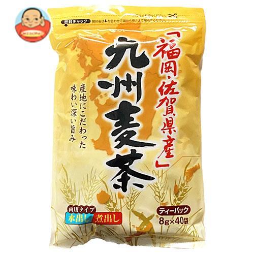 ちきりや 福岡・佐賀県産 九州麦茶ティーパック (8g×40袋)×20袋入