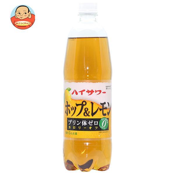 博水社 ハイサワー ホップ&レモン 1000mlペットボトル×6本入