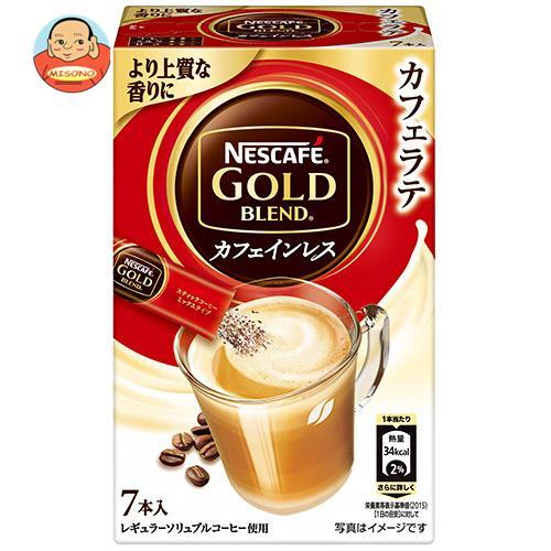 ネスレ日本 ネスカフェ ゴールドブレンド カフェインレス スティックコーヒー (6.6g×7P)×24箱入