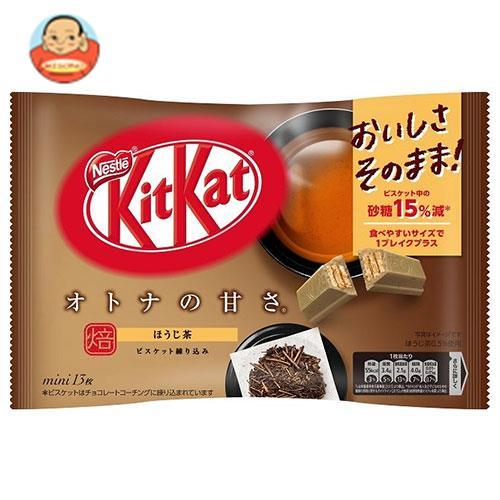 ネスレ日本 キットカット ミニ オトナの甘さ ほうじ茶 12枚×12袋入