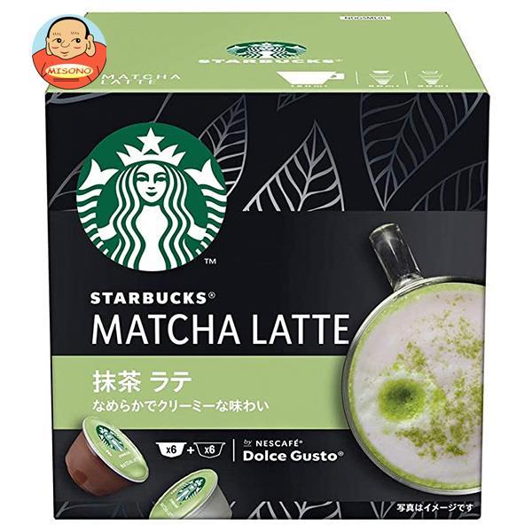 ネスレ日本 スターバックス 抹茶ラテ ネスカフェ ドルチェ グスト 専用カプセル 12個(6杯分)×3箱入