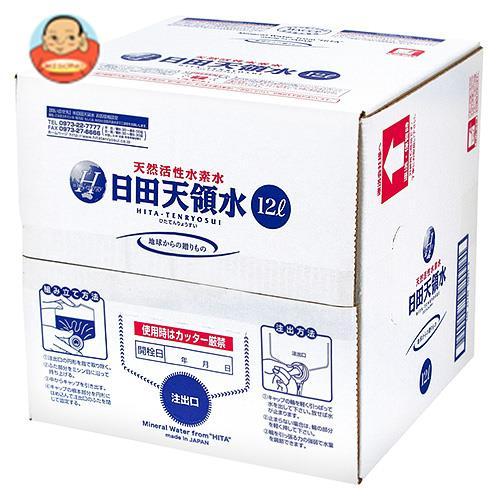 日田天領水 ミネラルウォーター 12L×1箱入