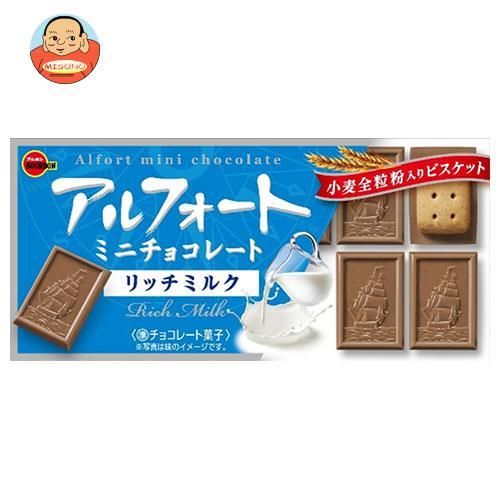 ブルボン アルフォート ミニチョコレート リッチミルク 12個×10箱入