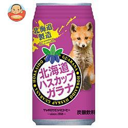 サッポロウエシマコーヒー 北海道ハスカップガラナ 350ml缶×24本入