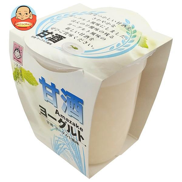 ヤマク食品 甘酒 ヨーグルト風味 180g×12個入